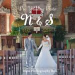 《お客様07》ご結婚記念日に!ヌサドゥア教会で撮影 – N & S 様