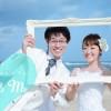 《お客様021》お持ち込みドレス & レンタルタキシードでビーチフォト Y様 & M様 by Natsuki