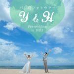 《お客様082》小雨から快晴に大逆転🌞青空ビーチでハネムーンフォト♡ Y&H様 by Natsuki