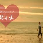 《お客様066》バリ島サンセットフォト R様 & S様 by Hashimoto