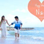 《お客様 #101》快晴!サマードレスとブルーシャツで爽やかビーチフォト♡ N&S様 by Tino