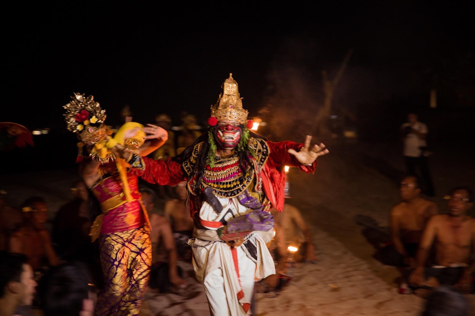 バリ島のダンス ステフェン撮影