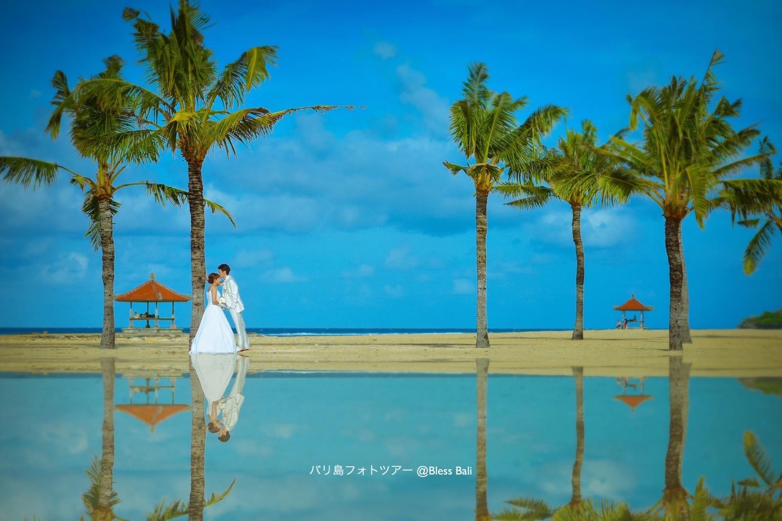 バリ島結婚写真