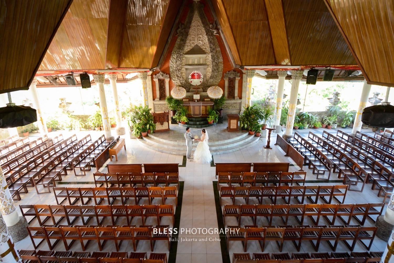 バリ島ヌサドゥア教会