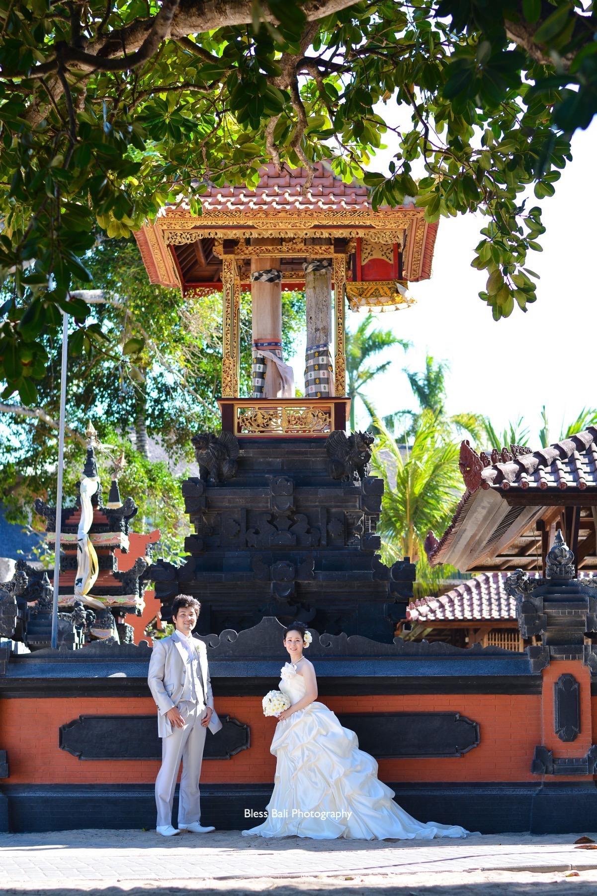 バリ寺院フォト