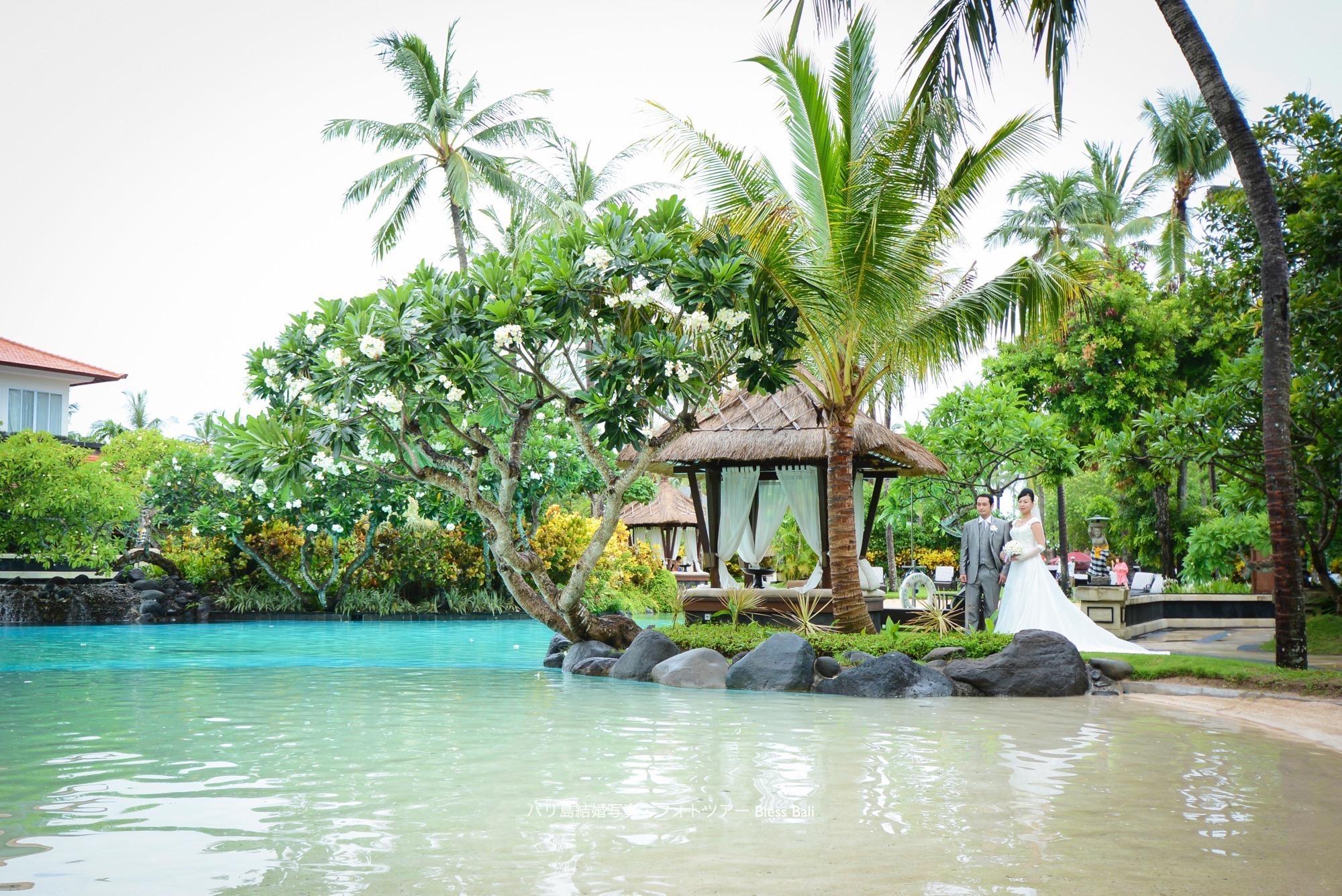 バリ島ザ・ラグーナ・ホテルでフォトツアー