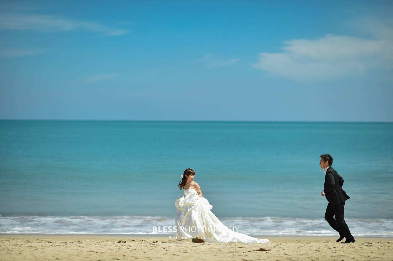 バリ島ビーチフォト ブレス撮影