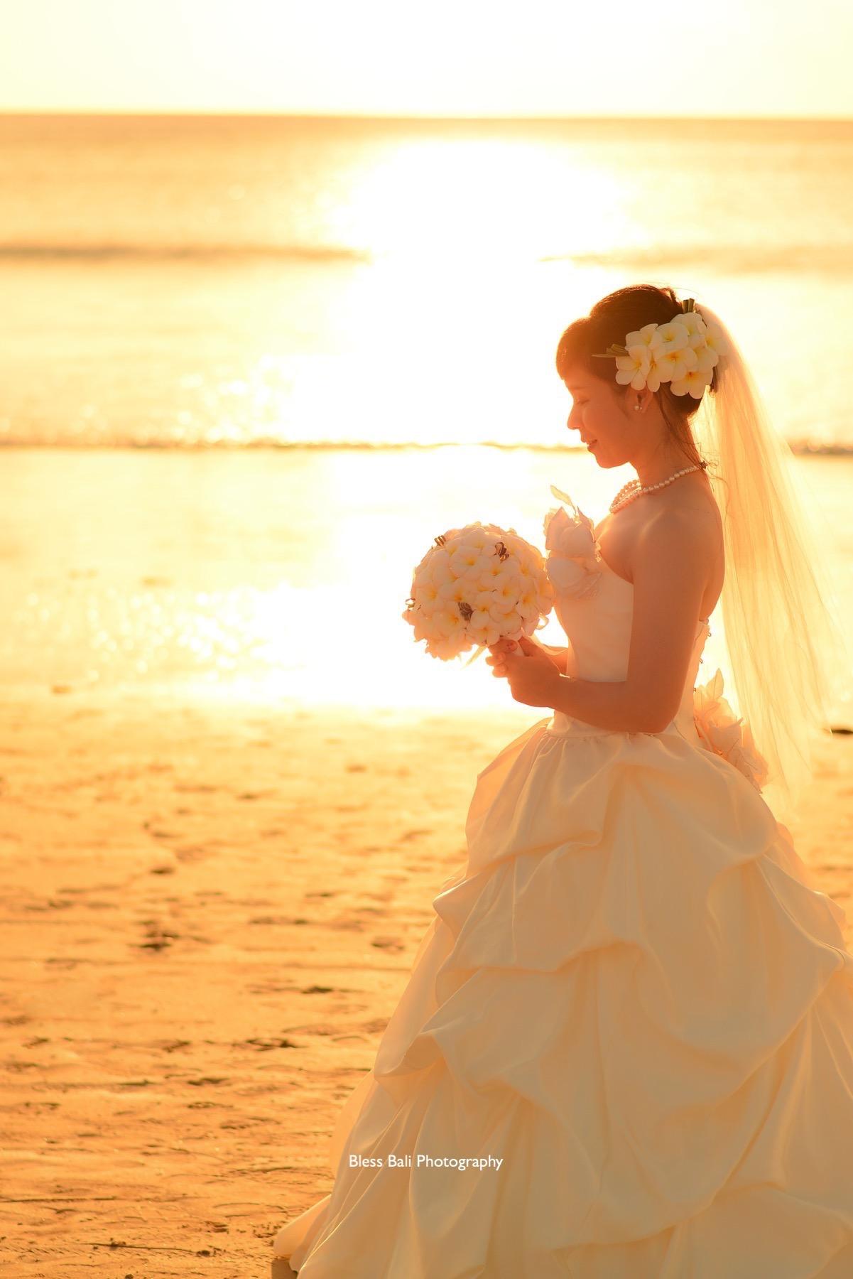 花嫁様のソロショット