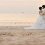 《お客様#132》K&A様のビーチ&サンセットフォト by TINO