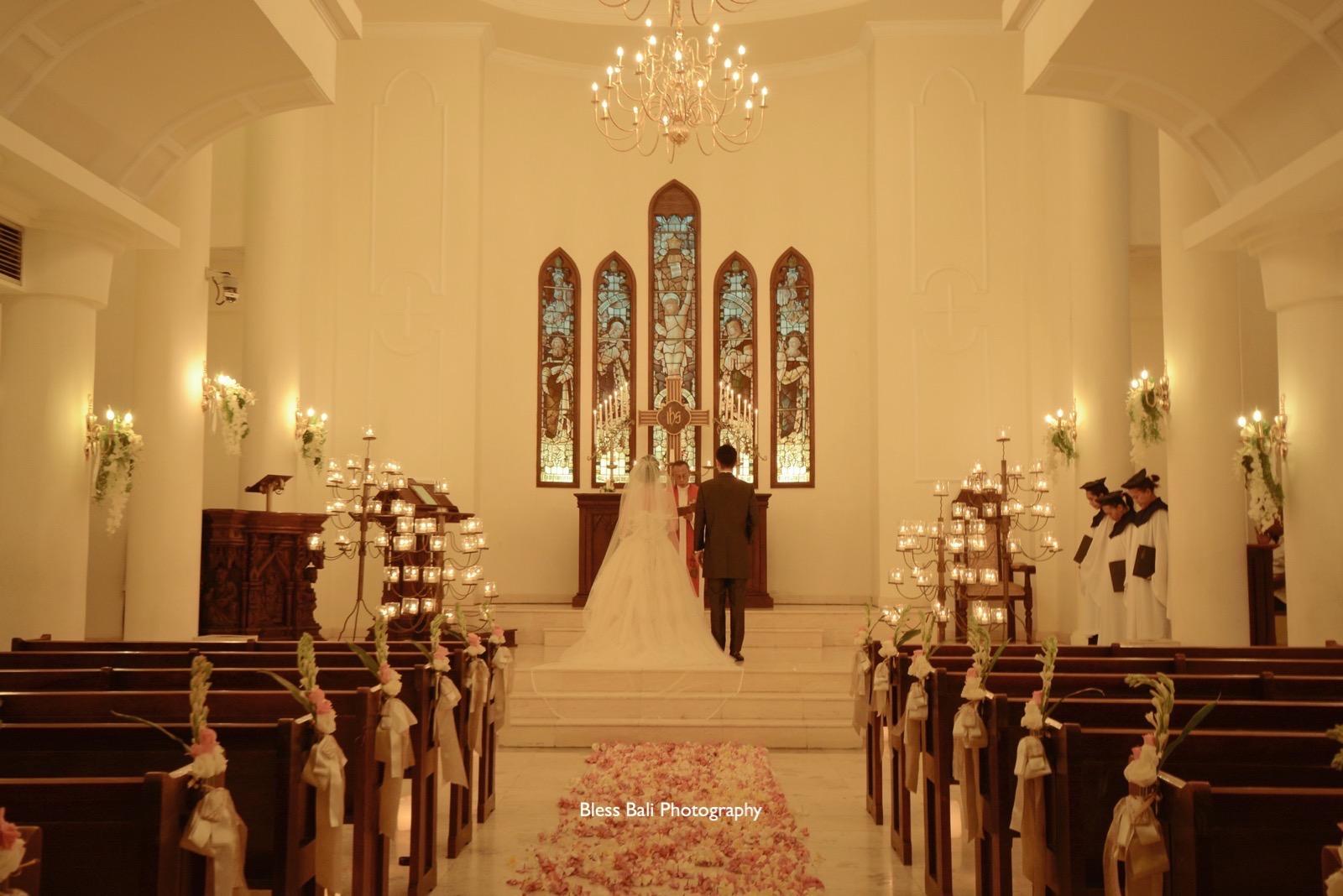 サント・ミカエル教会での挙式撮影