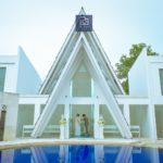 《お客様120》青空ビーチ&アマンダチャペルで撮影♡ D&Y様