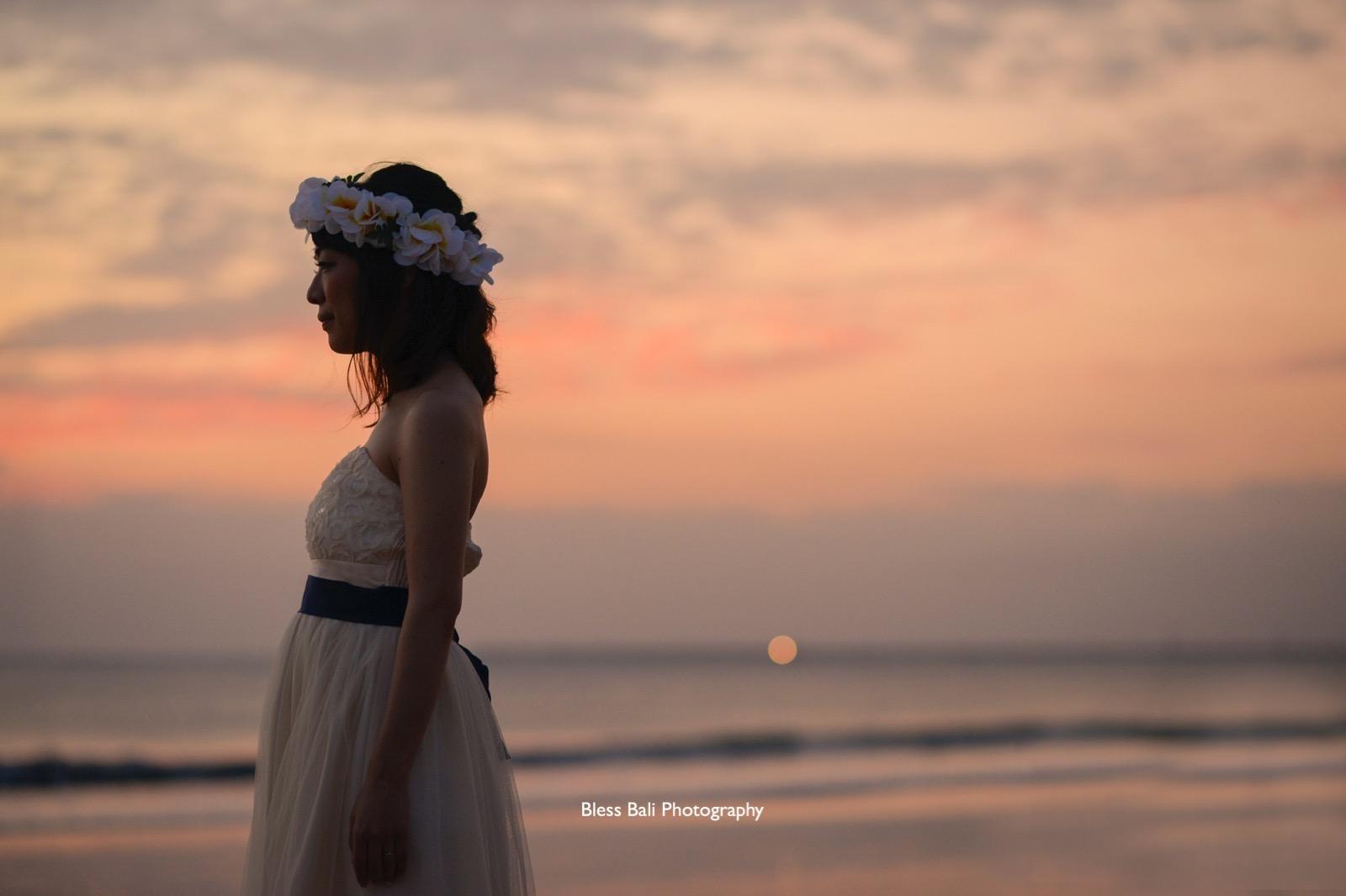 エンパイアドレスの花嫁様