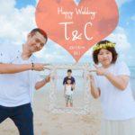 《お客様107》T&C様のご結婚20周年記念ファミリーフォト♡ by Natsuki