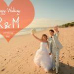 《お客様094》Happy 1st Anniversary! 結婚記念日のメモリアルフォト♡ R&M by Natsuki