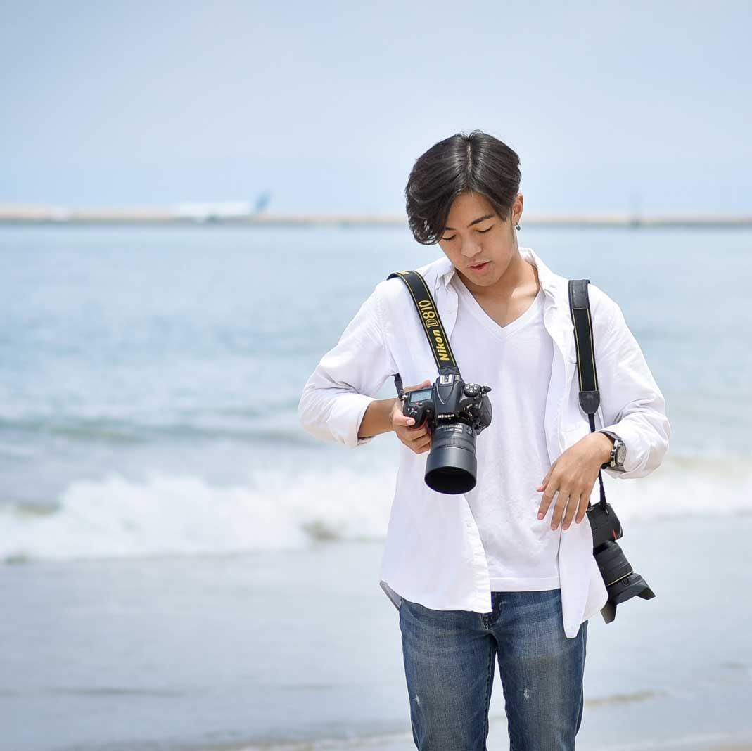 日本人カメラマンカイト
